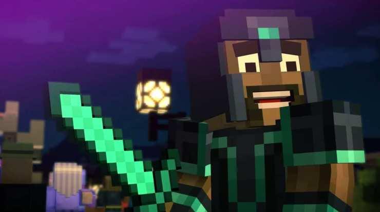 Minecraft par TellTale : enfin une histoire [M$]