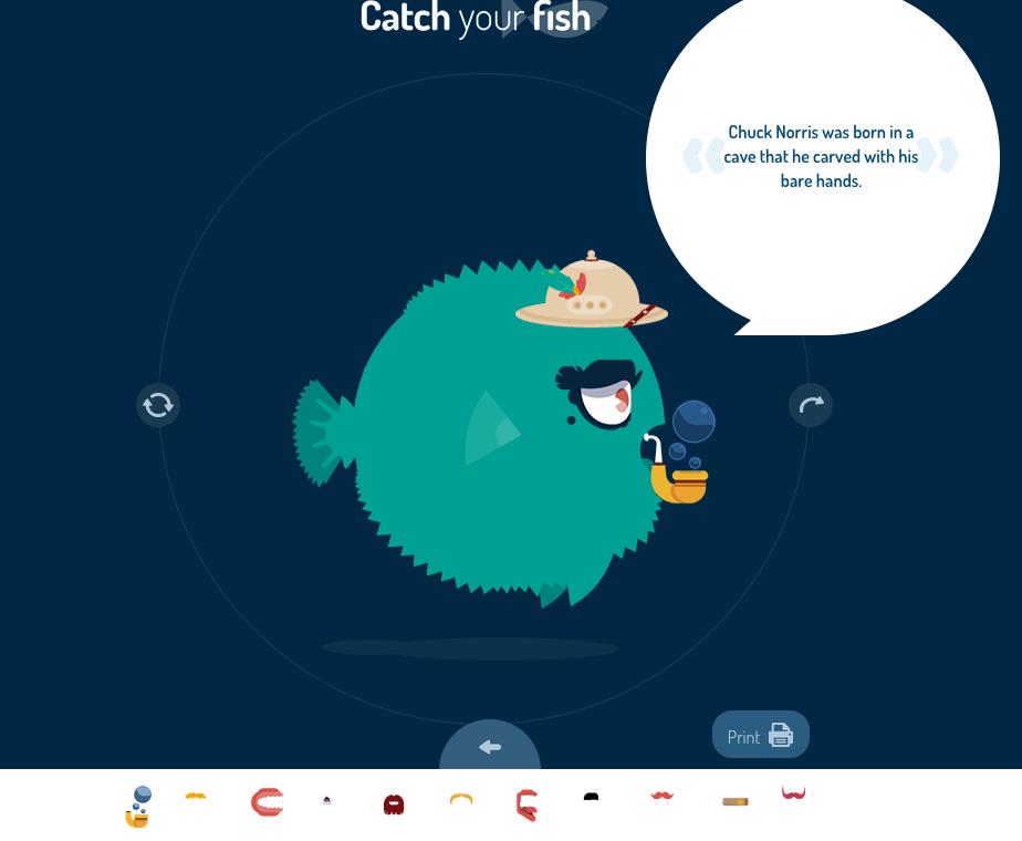 Catch your Fish : fabrique TON poisson d'avril [