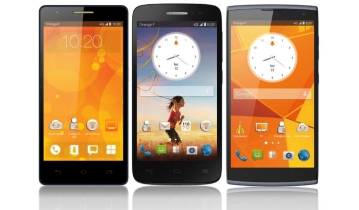Fova, Roya et Nura : Orange attaque l'entrée et le milieu de gamme [mobileWorld]