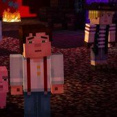 Minecraft Story Mode MineCon trailer | Rock, Paper, Shotgun